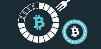 Bitcoin hard fork chain split