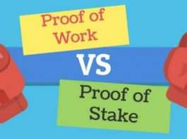 Difference between proof of work vs of stake