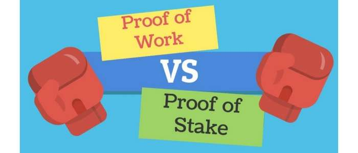Difference between proof-of-work vs proof of stake