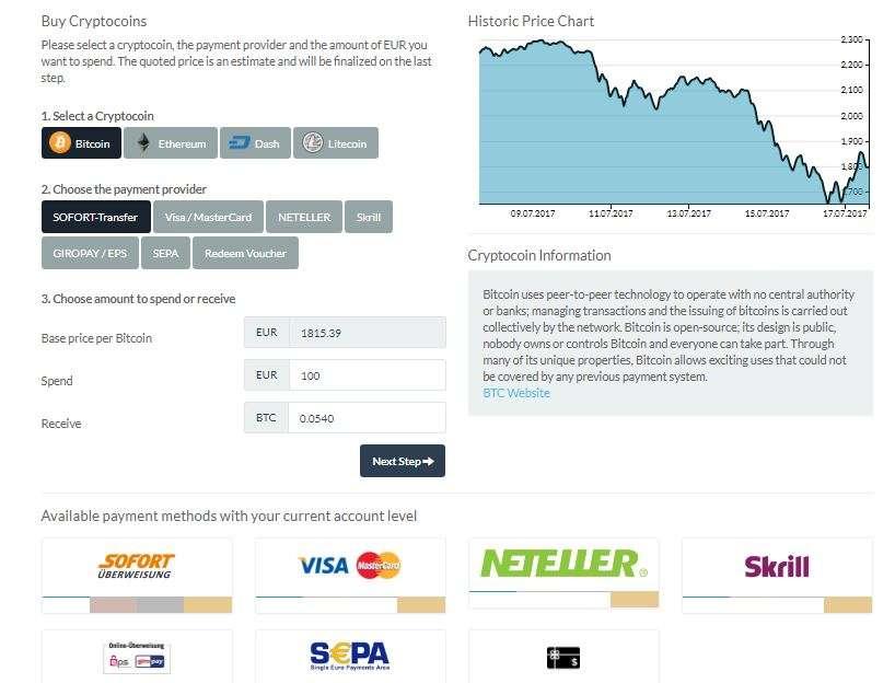 bitpanda buy cryptocurrency