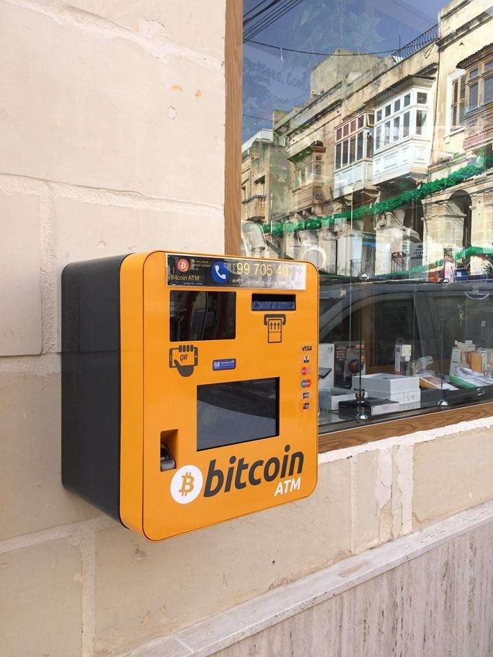 Malta introduced first bitcoin atm