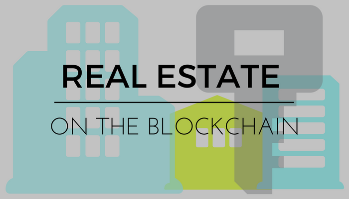 Real estate blockchain cryptocurrency