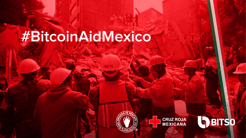 Bitso Launched Cryptocurrency Donation for Mexico Earthquake Victims