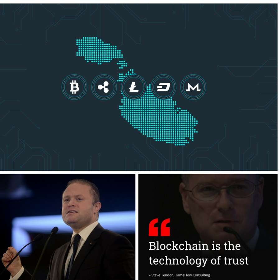 Malta embraces blockchain technology and cryptocurrency