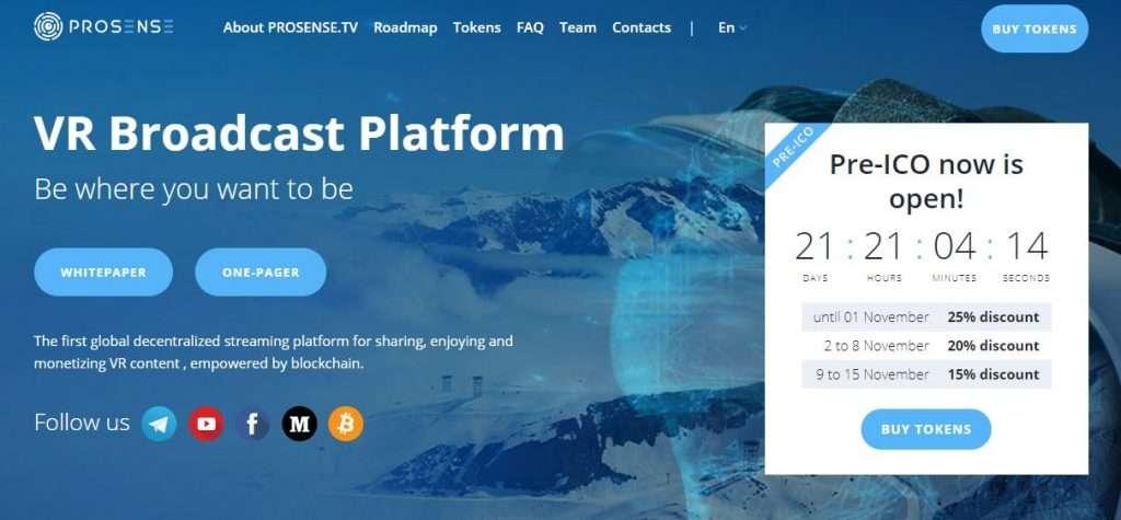 Buy Prosense VRT token