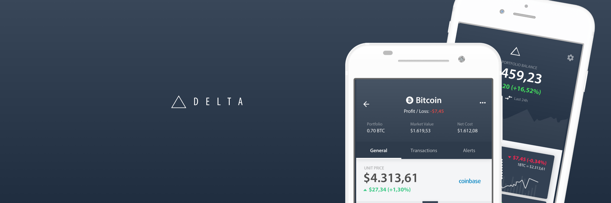 Delta cryptocurrency portfolio what you have to know