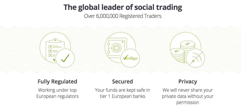 eToro cryptocurrency trading platform safety