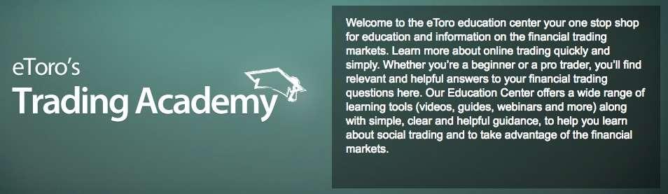 eToro review cryptocurrency trading academy