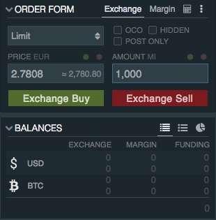 Bitfinex offers IOTA with Euro