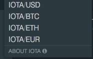 Buy IOTA with Euro