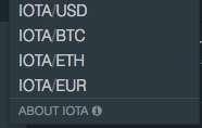 Buy IOTA with Euro