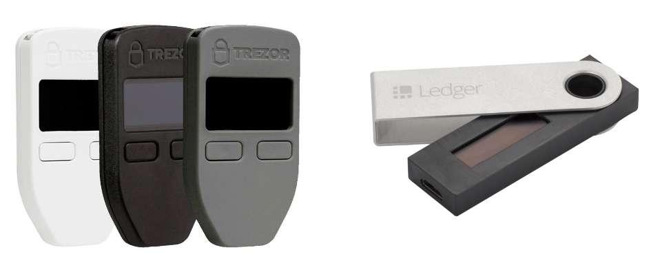 Ledger Nano S vs TREZOR