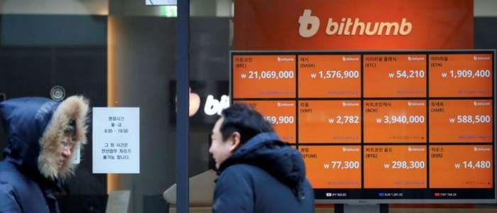 South Korea bans anonymous cryptocurrency exchanges