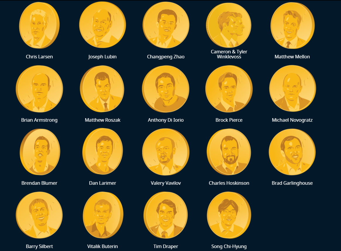 Forbes Cryptocurrency Richest People List