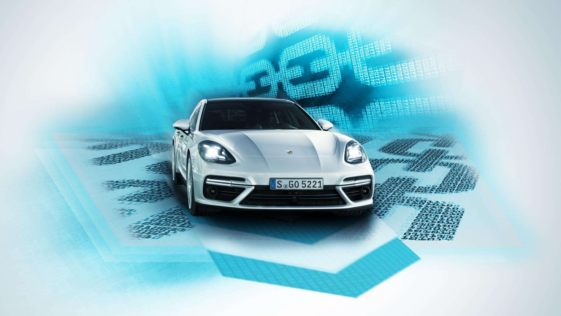 Porshe and blockchain technology