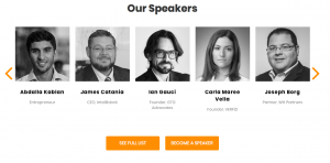 Speakers for Blockchain Summit