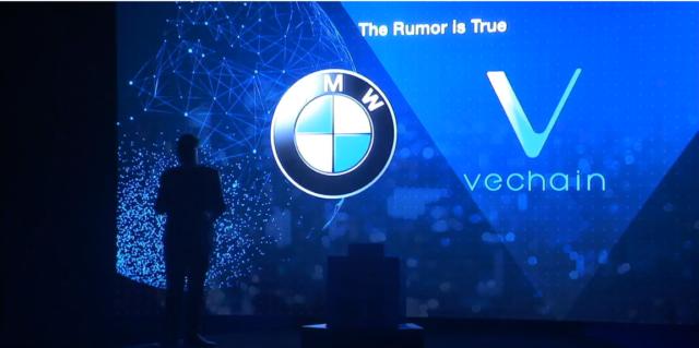 VeChain announces BMW partnership