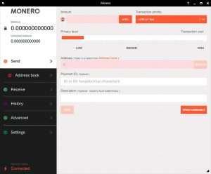 Monero GUI Desktop Wallet