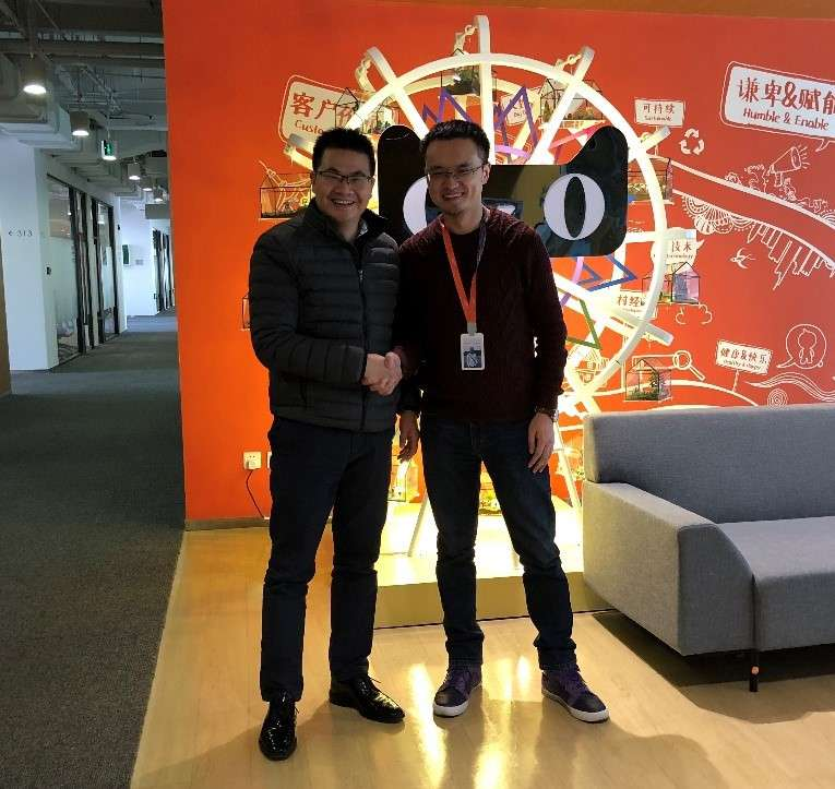 Woltonchain and Alibaba partnership