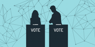 Voting on blockchain