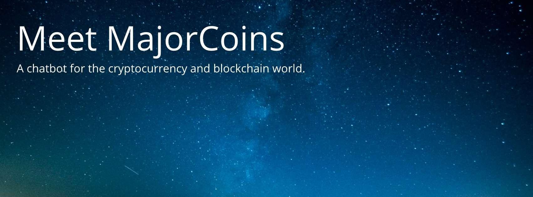 MajorCoins AI chatbot