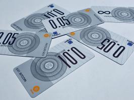 Bitcoin smart banknotes