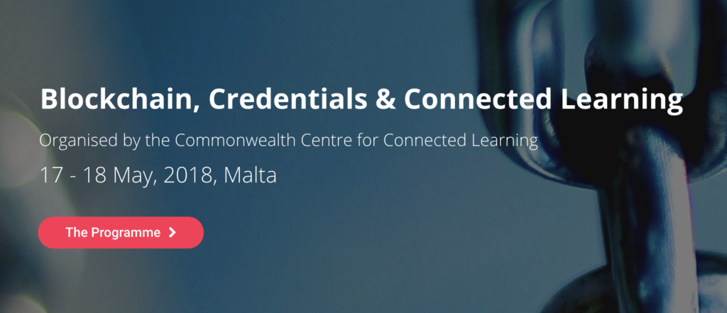 Blockchain, Credentials & Connected Learning Conference