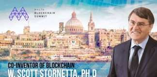 Founder of blockchain in Malta
