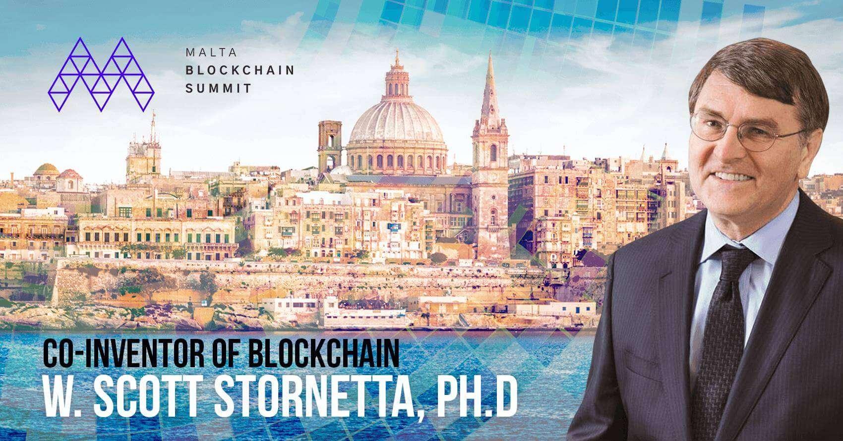 Founder of blockchain in Malta