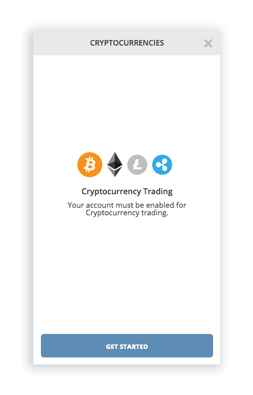Open account with CCTrader